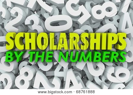 Scholarship by Numbers School College University Financial Aid Chances Odds
