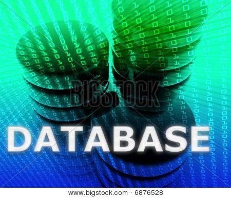 Database Data Storage