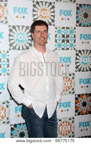 LOS ANGELES - JUL 20:  Chuck Hogan at the FOX TCA July 2014 Party at the Soho House on July 20, 2014 in West Hollywood, CA