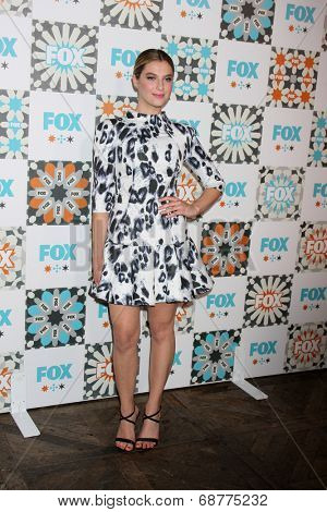 LOS ANGELES - JUL 20:  Zoe Levin at the FOX TCA July 2014 Party at the Soho House on July 20, 2014 in West Hollywood, CA