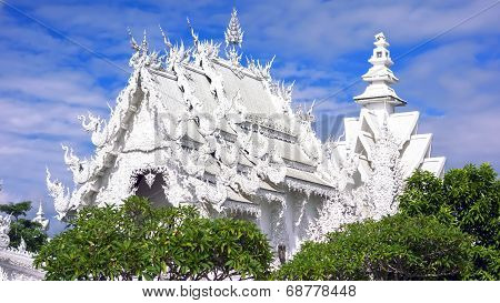 White Temple After Earthquake.