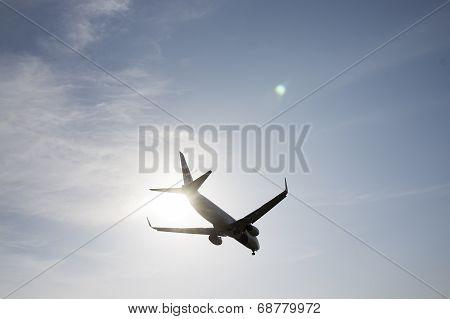 Boeing 737 Ready For Landing