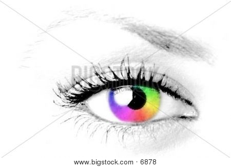 Colorful Eye