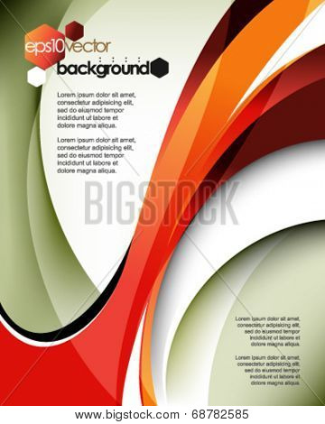 eps10 vector abstract lines background