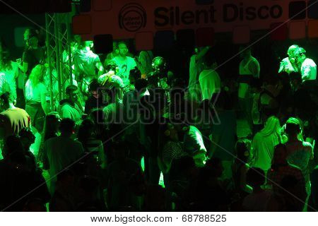 Silent disco on Exit Festival