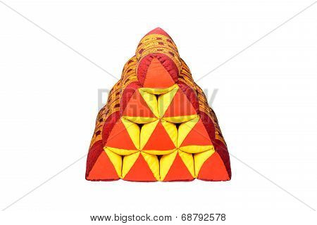 Triangle Pillow.