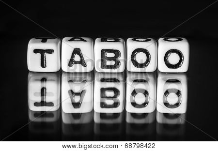 Taboo With Black And White Theme