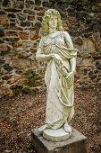 stock photo of duke  - Classical statues in the old barn at Duke Farms in Hillsbourough NJ - JPG