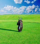 foto of golf bag  - Golf club - JPG