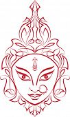 stock photo of durga  - Maa Durga - JPG