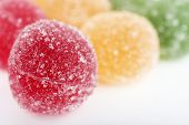picture of testis  - Testy jelly candies close up - JPG