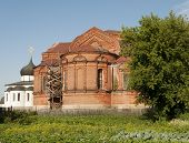 picture of trinity  - View of Trinity Cathedral in Yuriev - JPG