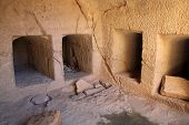stock photo of burial  - Tombs of the Kings - JPG