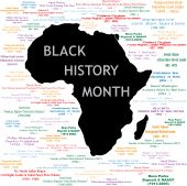pic of nobel peace prize  - Vector Illustration for black history month including names time periods and what each person did - JPG