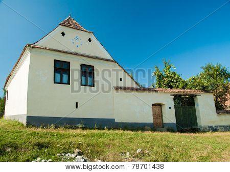 Viscri Village And Fortified Church Of Viscri, Transylvania, Romania