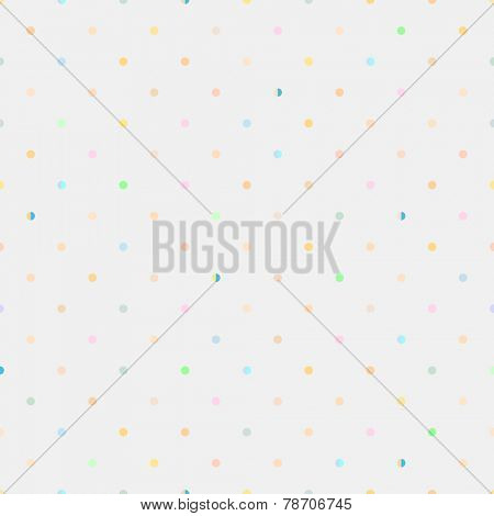 Vector seamless pattern. Modern style. Duplicate points