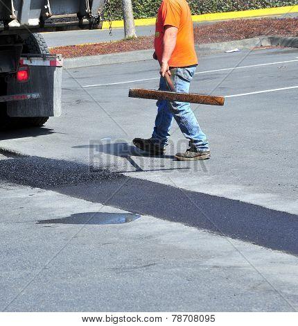 Portholes asphalt repairs.