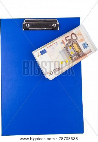 Blue Clipboard