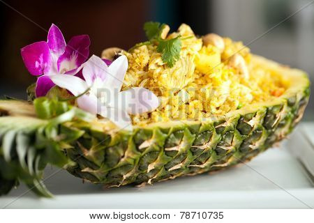 Yummy Thai Pineapple Fried Rice