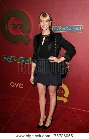 LOS ANGELES - MAR 1:  Beth Behrs at the QVC 5th Annual Red Carpet Style Event at the Four Seasons Hotel on March 1, 2014 in Beverly Hills, CA