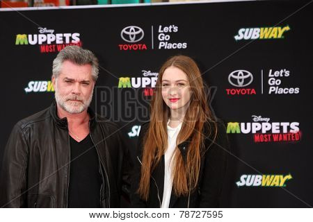 LOS ANGELES - MAR 11:  Ray Liotta at the