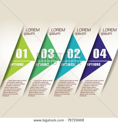Abstract design element template