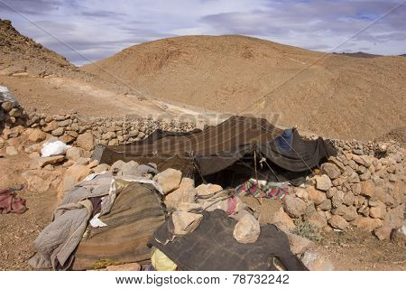 Tent Of High Atlas Mountains Shepherds