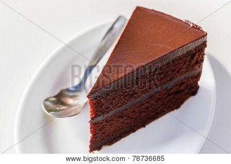 Chocolate Cake .