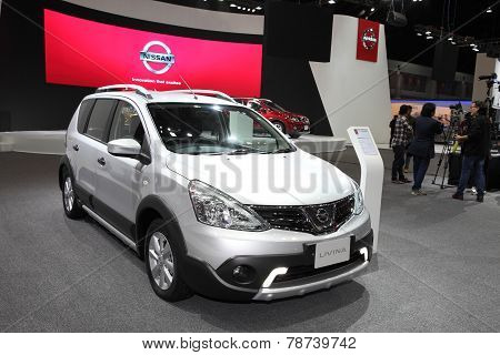 Bangkok - November 28: Nissan Livina Car On Display At The Motor Expo 2014 On November 28, 2014 In B