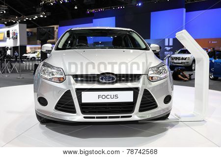 Bangkok - November 28: Ford Focus Car On Display At The Motor Expo 2014 On November 28, 2014 In Bang