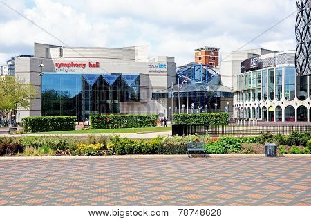ICC and Symphony Hall, Birmingham.