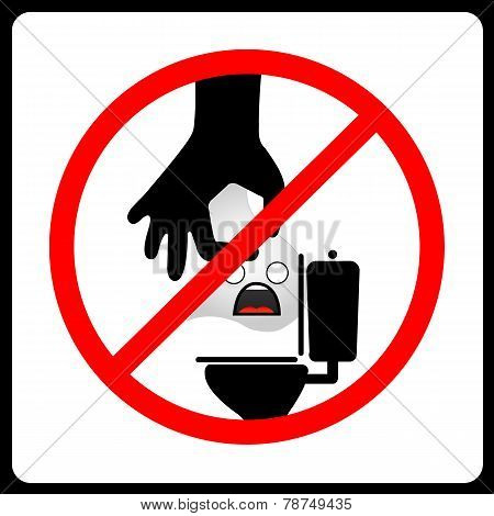 Do not Dispose tissue paper vector