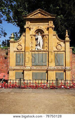 War memorial, Lichfield.