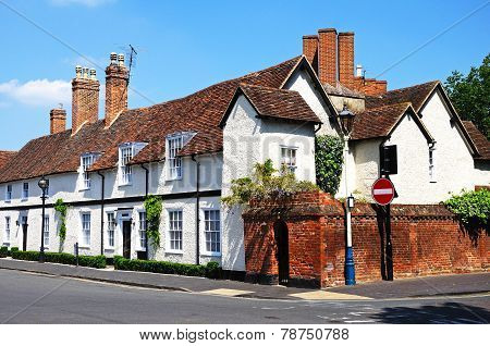 Row of cottages, Stratford-upon-Avon.