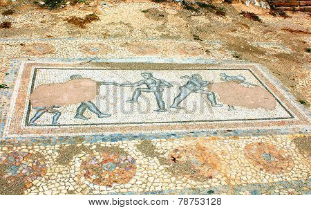 Archaic Roman Era Mosaic Found At Ancient Dion Of Greece