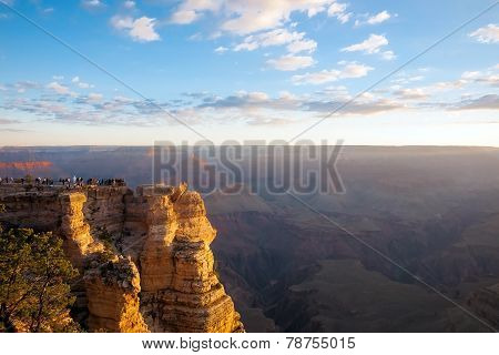 Sun Rise At The Grand Canyon