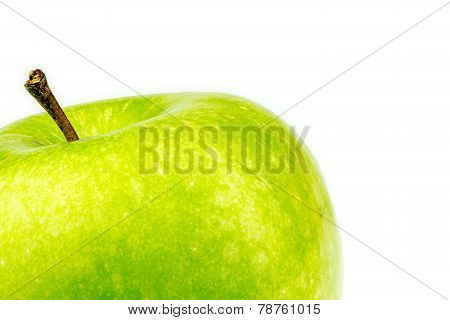 Background Texture Of Green Granny Smith Apple