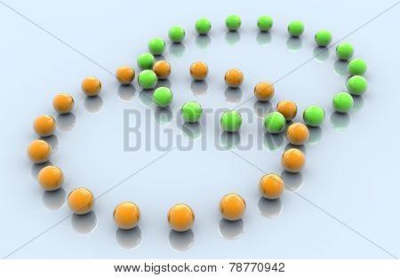 Intersected Venn Diagram