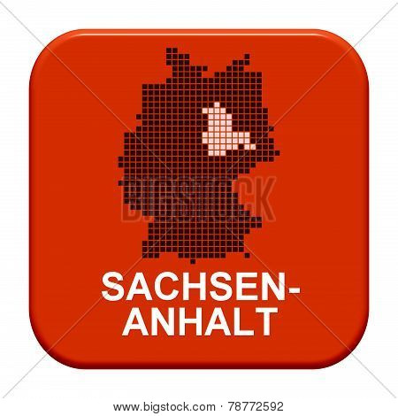 Red Button: German Region sachsen-anhalt