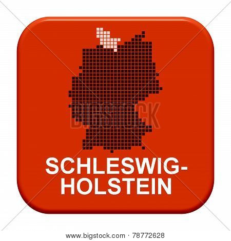 Red Button: German Region Schleswig-holstein