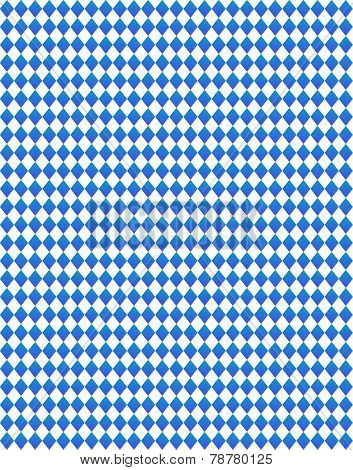 Bavarian Background dark blue white