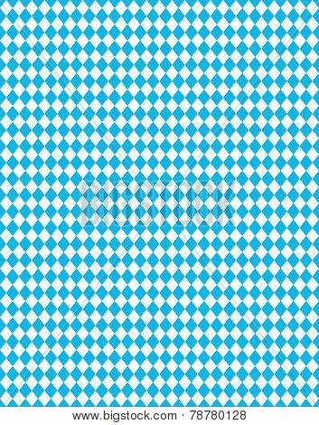 Bavarian Background blue white