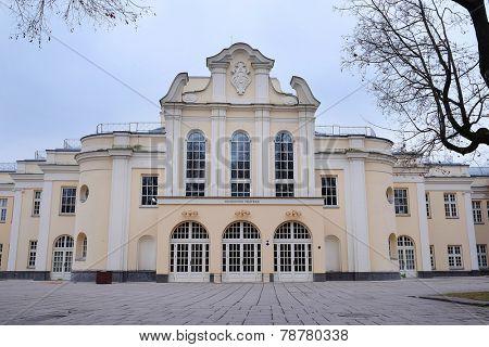 Kaunas, Lithuania, November, 17, 2014: Kaunas state musical theatre