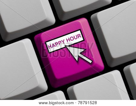 Computer Keyboard: Happy Hour