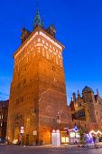 picture of torture  - Tower of the medieval torture chamber in Gdansk - JPG