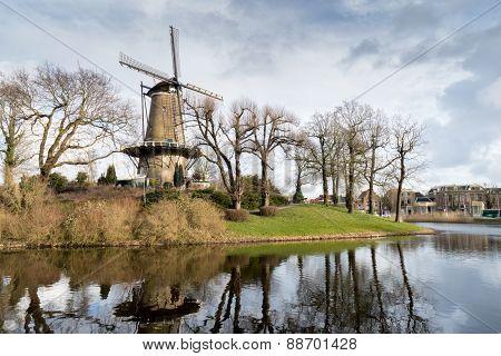 Old Windmill in Alkmaar