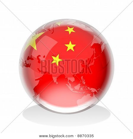 Crystal Sphere  People's Republic of China