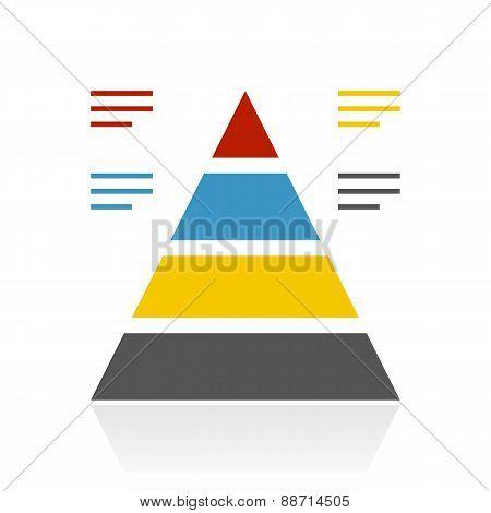Color Pyramid Icon