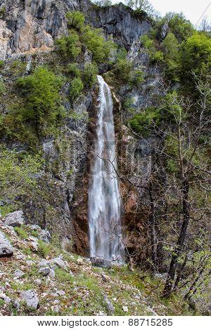 Nevidio Canyon In Montenegro