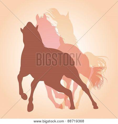 Tree Horses